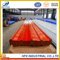 Shandong insulation corrugated metal roofing
