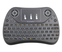 Wireless keyboard learning function PC TV remote control with best price