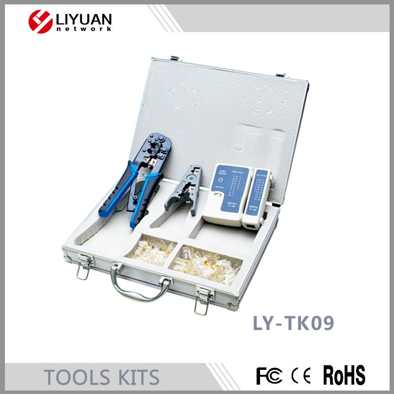 LY-TK09 Mini Household Hand Tool Kit with Iron Case