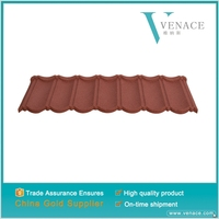 High quality Impact resistance residential metal tile roofing