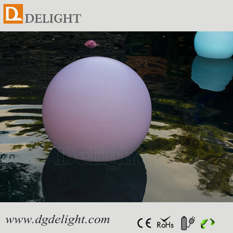 RGB Colorful Rechargeable Big LED Ball Light IP65 Swimming Pool Floating LED Light Balls