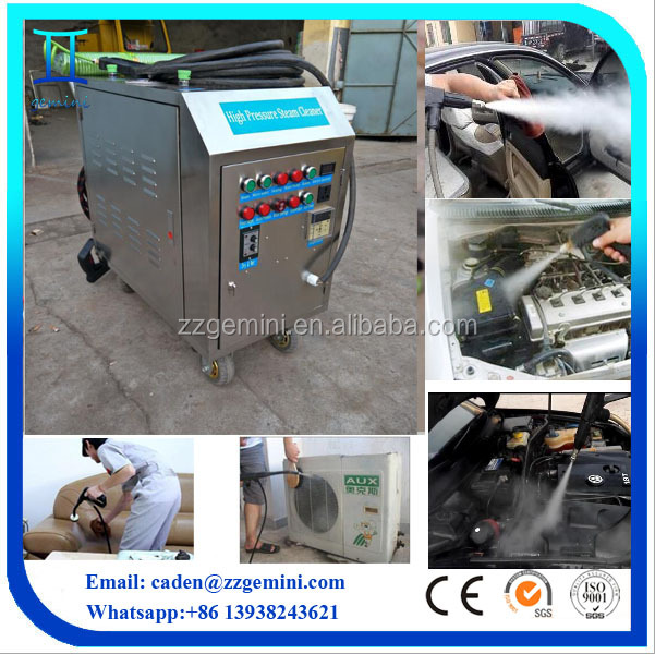 mobile steam for dry cleaning car wash machine with best quality