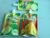 food packaging plastic bag for fruit juice