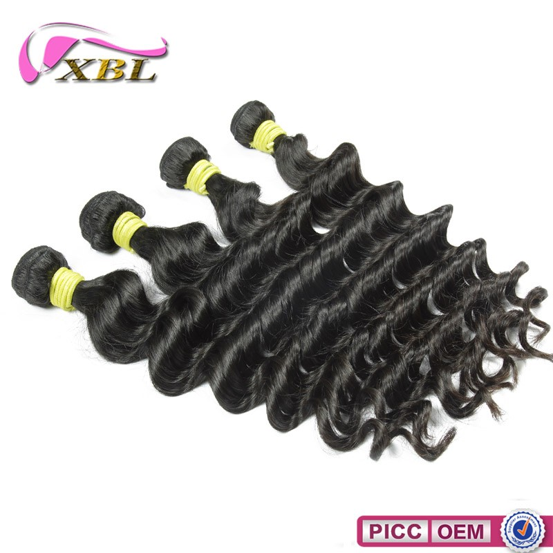 2016 Wholesale Indian Human Hair, Low Price Ture Length Remy 100 Human Hair