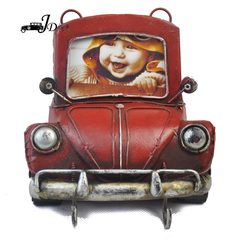 Wholesale Metal Car Wall Hanging Decoration Crafts 2520