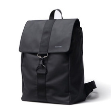 Men's and women's shoulder bag leisure light large capacity bag fashion business bag PU backpack waterproof factory