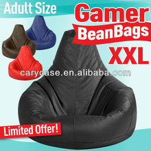 XXL adults Gamer beanbags, outdoor and indoor bean bag chair WITHOUT FILLING