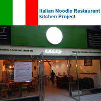 Italian Noodle Restaurant Kitchen Project