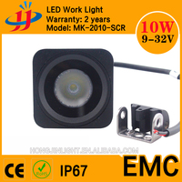 LED headlight Factory Directly Wholesale 2 inch 10W square Mini Size LED Work Light