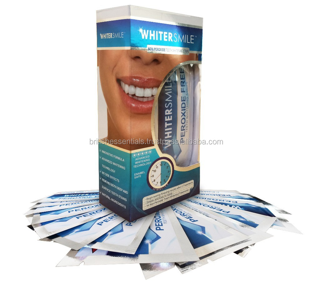 Professional Teeth Whitening Strips - 28 Premium Grade Teeth Whitener White Strips With Advanced Whitening Technology