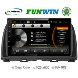 Top Version Android 4.4.2 car dvd 2 din special for Mazda Atenza car stereo 1080p
