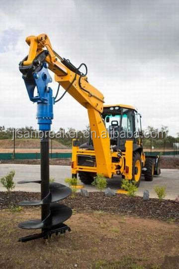 earth drill auger for mobile crane