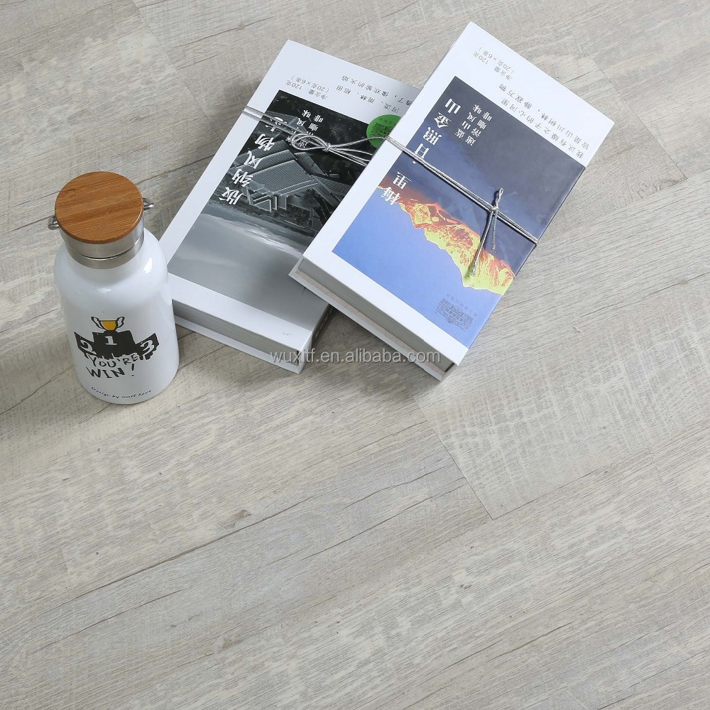 Various kinds waterproof home pvc loose lay/click look high gloss vinyl flooring planks for indoor