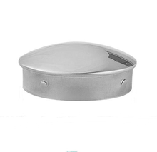 Stainless Steel Stair Handrail End Cap For Round Pipe