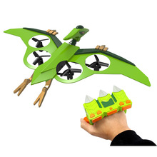 china new rc magic ufo flying bird toy hand wave sensor drone