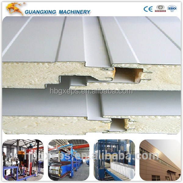 Best Factory Price PU / Polyurethane Sandwich Roof / Wall panels