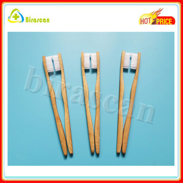 Free sample 100% biodegradable wholesale cheap bamboo tooth brush