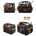 China factory OEM 600D polyester tool bag with handle