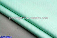 woven mercerised 40s 130*70 poplin green twill fabric yarn dyed 100% cotton striped shirting blouse fabric