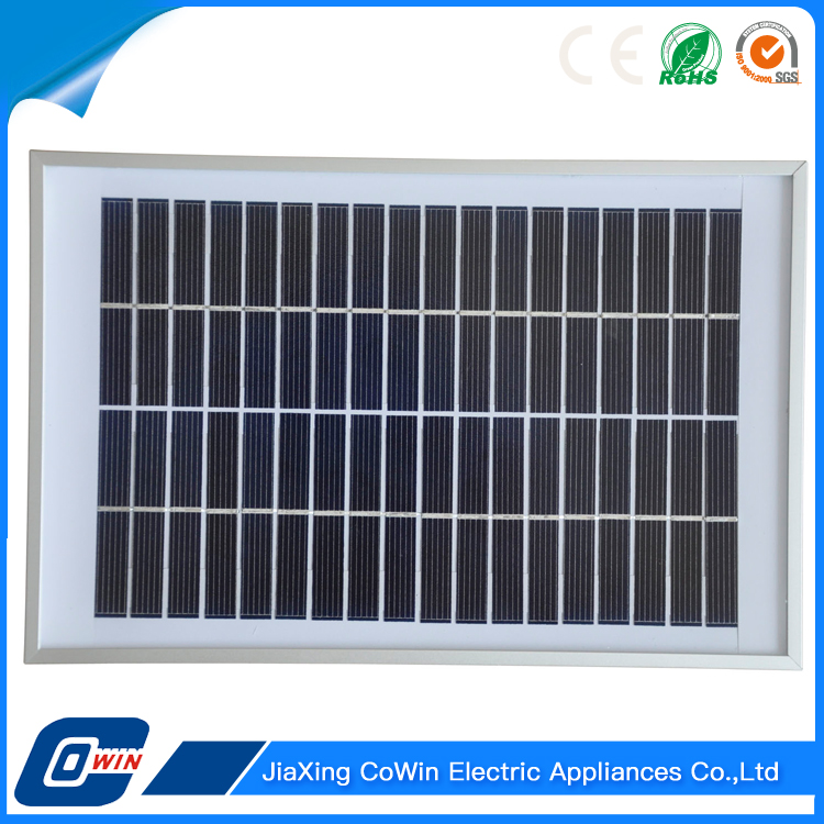 TUV Approved Cheap Price 5W Multi-Crystalline Silicon Solar Panel