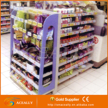 wholesale modern standard pegboard rack metal shelf units supplier cheap price gondola supermarket shelving