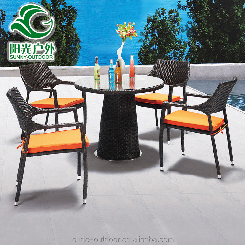 Best quality rattan outdoor furniture with round table 4 for Best quality furniture