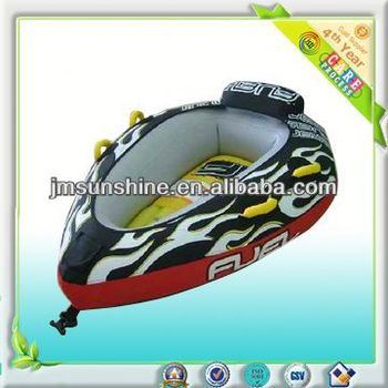 inflatable towable slide