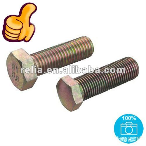 Haiyan Machine Screw Hex Bolts