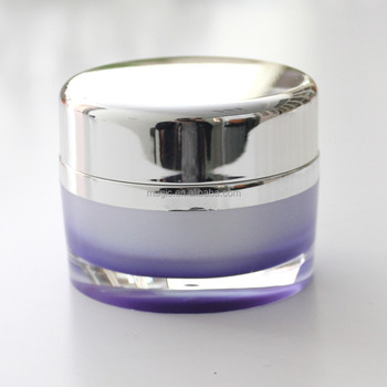 30g 50g Oval Shape Empty acrylic jar, Empty cream jar, Empty cosmetic jar