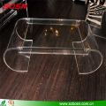 Hot sell large transparent plexiglass table Perspex furniture wholesale
