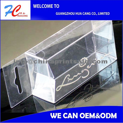 2016 China pet/pvc/pp small clear gifts box/ Printed Soft Crease Clear Plastic Pvc Box