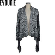 high quality ladies design of hand knitting cardigan sweater