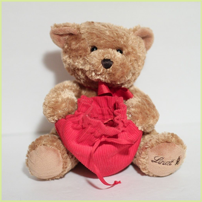 New Novelty 2017 spring new I love you teddy bear with red heart
