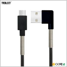 L shaped right angle component 90 degree usb cable
