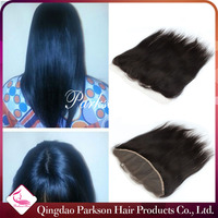 AAAAAAA Top sale raw human hair 13x4 lace frontal 100% malaysian silky straight virgin hair closure