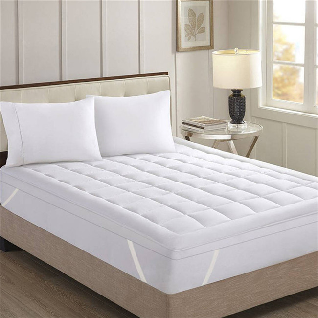 Hotel supplier quilted mattress protector breathable 4 inch mattress topper - Jozy Mattress | Jozy.net