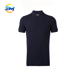 New trendy polo shirt 100% cotton pique mens customized high quality