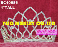 hair jewelry costume bridal forehead rhinestone tiara