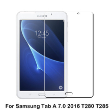 New products anti shock anti uv ultra thin tablet Tempered Glass Screen Protector for Samsung Galaxy Tab A 7.0 2016 T280 T285