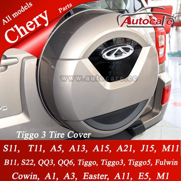chery tiggo tire cover QQ,<strong>a1</strong>,a5,a3,b11 auto parts chery qq accessories