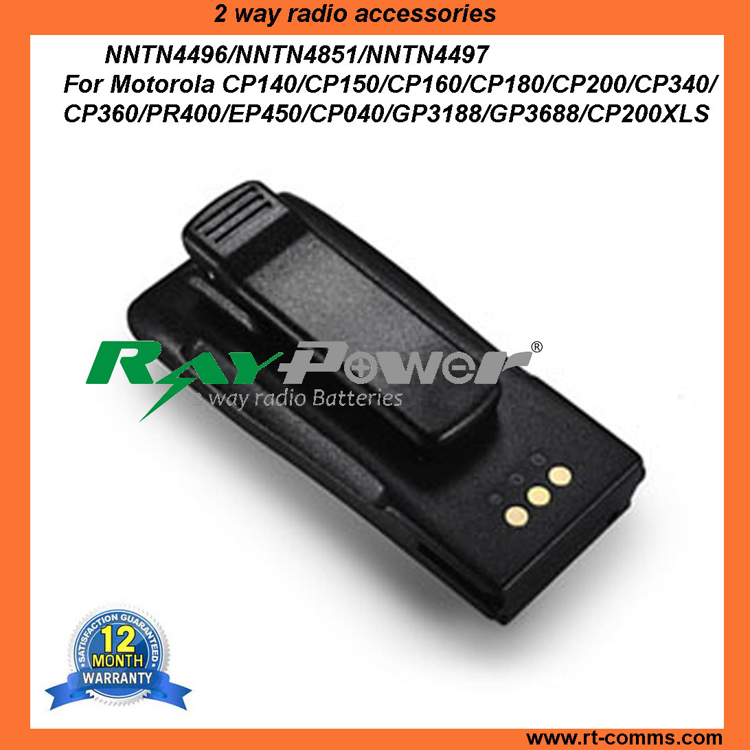 Rechargeable Two way radio battery NTN4496 for Motorola EP450 CP140 CP040 GP3188