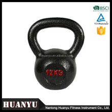 China goods crossfit competititon cast iron kettle bell paint
