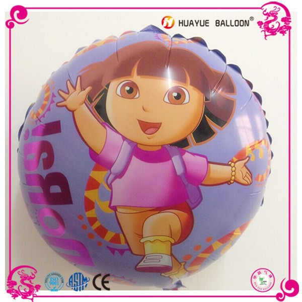 Advertising decoration promotion printing foil balloon, toy party helium balloon
