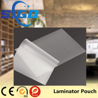 SIGO Waterproof Plastic Pouch Film Laminating Pouch Film