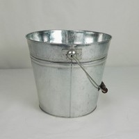 small metal pail durable galvanized small metal pail with handle