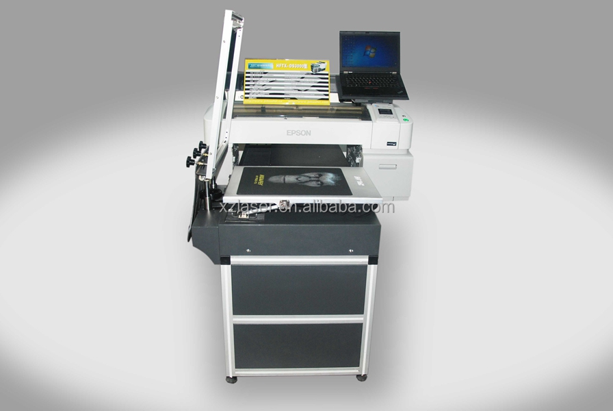 Hot sale bz ds3000 digital t shirt printer with screen for T shirt screen printers for sale