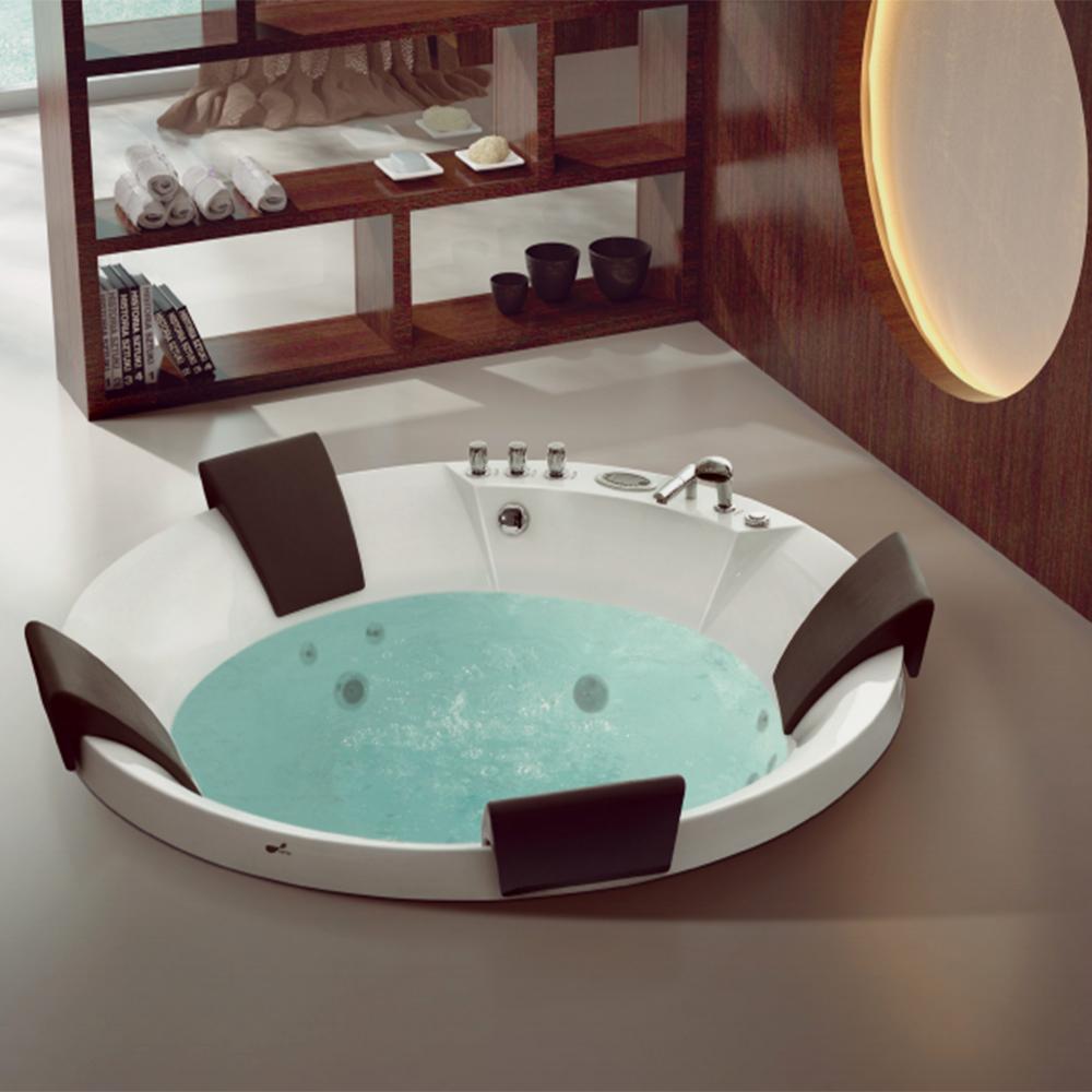 Delicieux HS B1606T Big Bathtub 4 Person/ Drop In Spa Bath/ Round Drop In Bath Tub