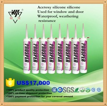 High Grade Fast Cure Acetic Silicone Sealant window and door frame speical silicone sealant