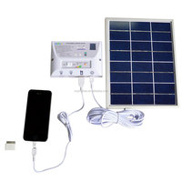 Portable Rechargeable Solar Home System Solar