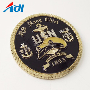 Wholesales cheap custom metal engraved euro challenge coins
